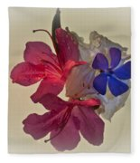 Azalea Bouquet Majic Fleece Blanket
