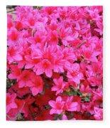 Azalea Flowers Fleece Blanket
