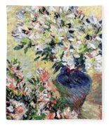 Azaleas Fleece Blanket