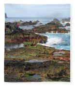 Azores Seascape Fleece Blanket