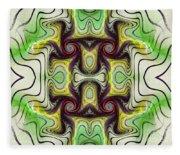 Aztec Art Design Fleece Blanket