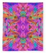 Aztec Kaleidoscope - Pattern 009 Fleece Blanket