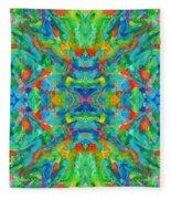 Aztec Kaleidoscope - Pattern 026 Fleece Blanket