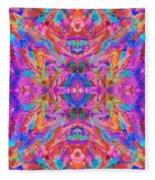 Aztec Kaleidoscope - Pattern 032 Fleece Blanket