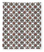 Azulejos Magic Pattern - 06 Fleece Blanket
