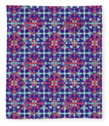 Azulejos Magic Pattern - 07 Fleece Blanket