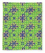 Azulejos Magic Pattern - 08 Fleece Blanket