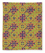 Azulejos Magic Pattern - 09 Fleece Blanket