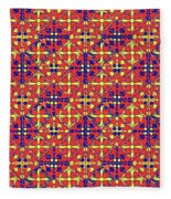 Azulejos Magic Pattern - 10 Fleece Blanket