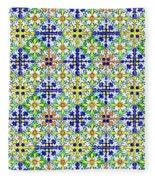 Azulejos Magic Pattern - 11 Fleece Blanket