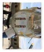 B-17 Front  Fleece Blanket