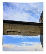 B-24j Tail  Fleece Blanket