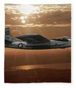 B-45c Tornado Fleece Blanket