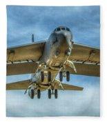 B-52 Departure Color Fleece Blanket