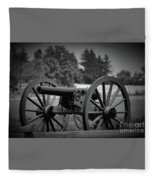 B W Canon Gettysburg Fleece Blanket