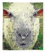 Baaaaaaa Fleece Blanket