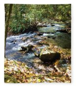 Babbling Brook Fleece Blanket