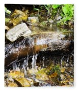 Babbling Brook Fleece Blanket