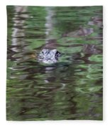 Babcock Wilderness Ranch - Alligator Lake - Heads Up Fleece Blanket