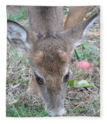 Baby Backyard Button Buck Fleece Blanket