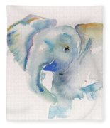 Baby Blue Fleece Blanket