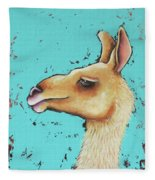 Baby Llama Fleece Blanket