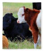 Baby Of The Herd Fleece Blanket