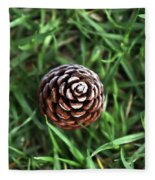 Baby Pine Cone Fleece Blanket