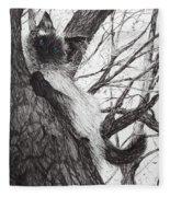 Baby Up The Apple Tree Fleece Blanket
