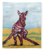 Baby Zebra Fleece Blanket