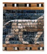 Babylon: Lion Fleece Blanket