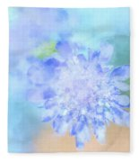 Baby's Breath Fleece Blanket