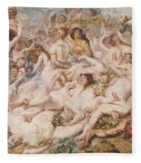Bacchanalia Fleece Blanket