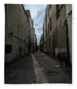 Back Alley Fleece Blanket