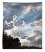 Back Lighting Fleece Blanket