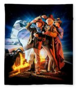Back To The Future Part IIi 1990 Fleece Blanket