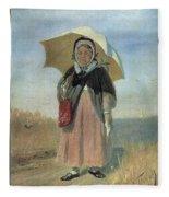 Back To The Holy Trinity 1870 Q D 25h19 Pm 7 Tg Vasily Perov Fleece Blanket