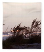 Back To The Shores Fleece Blanket