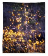 Backlit Beauty Fleece Blanket