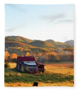 Backroad  Fleece Blanket