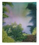 Backwoods Mist Fleece Blanket