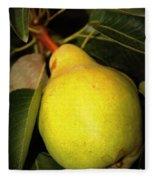 Backyard Garden Series - One Pear Fleece Blanket