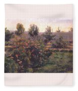 bacon garden landscape c1894 Henry Bacon Fleece Blanket