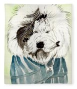 Bad Hair Day Fleece Blanket