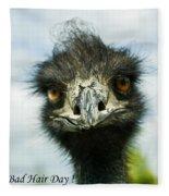 Bad Hair Day Fleece Blanket