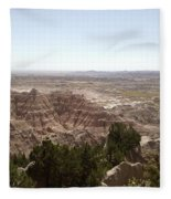 Bad Lands Fleece Blanket