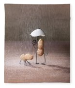 Bad Weather 02 Fleece Blanket