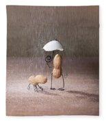 Bad Weather 02 Fleece Blanket