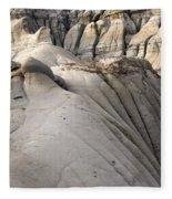 Badlands Drumheller Alberta Canada 7 Fleece Blanket