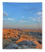 Badlands Evening Fleece Blanket